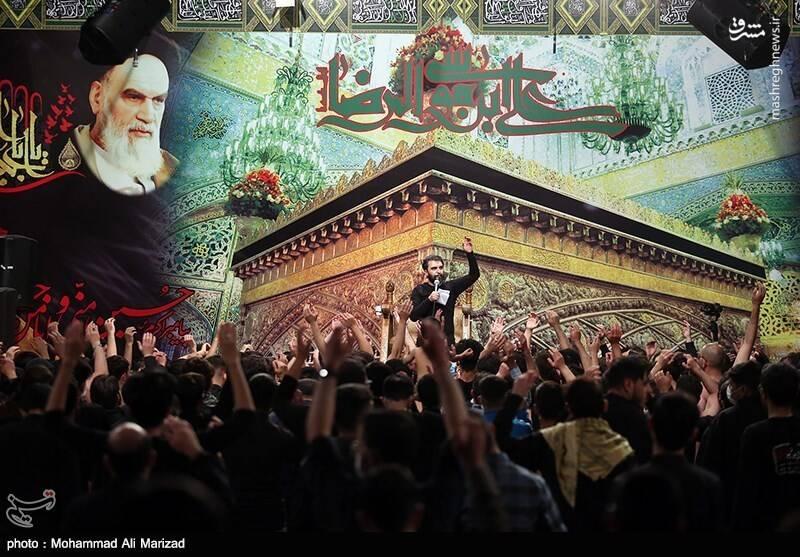 عزاداری دهه آخر صفر در حسینیه آیت الله هاشمی