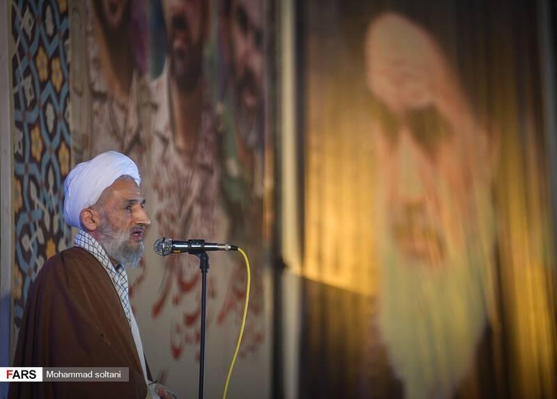 سخنرانی ایت الله لایینی در مراسم  شب وداع