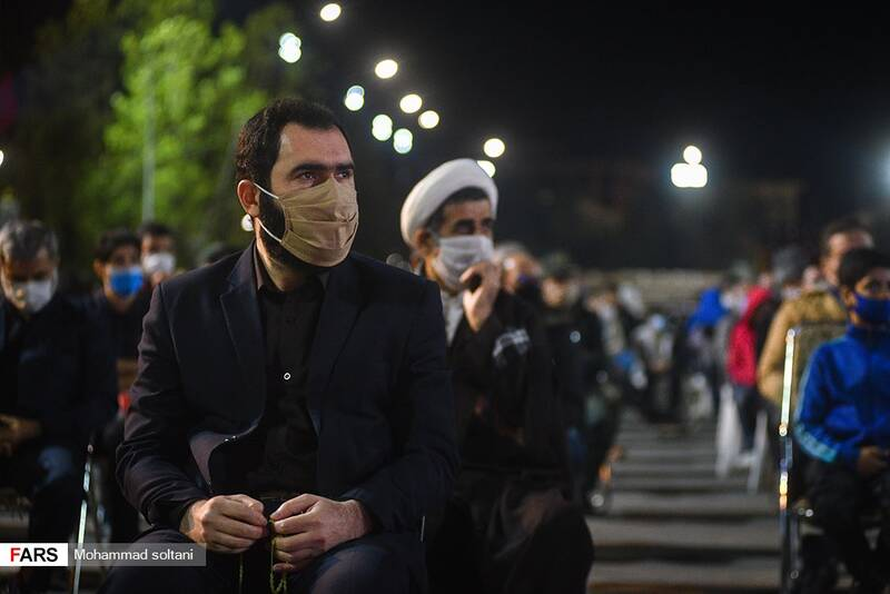 حضور مسعولین  و دادستان مرکز استان  در این مراسم