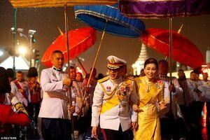 مراسم چهارمين سال درگذشت پادشاه تایلند