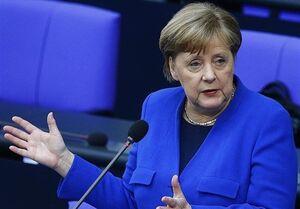 ابراز نگرانی عمیق مرکل درباره شرایط کرونایی اروپا