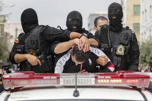 ۱۴۶ اراذل و مزاحم نوامیس دستگیر شدند