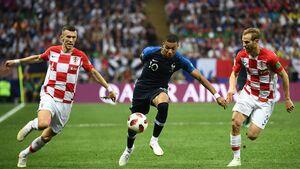 فیلم/ خلاصه بازی کرواسی ۱ - فرانسه ۲