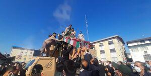یک استان به احترام شهدا ایستاد +عکس