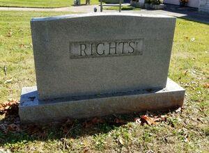 سنگ قبری عجیب در آمریکا +عکس