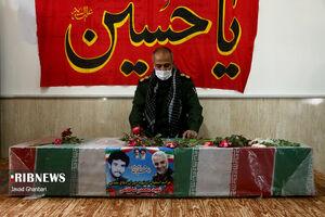 عکس/ بازگشت شهید پس از ۳۷ سال دوری از وطن
