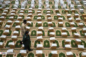 عکس/ لبیک به فرمان رهبر انقلاب  در رزمایش کمک مومنانه