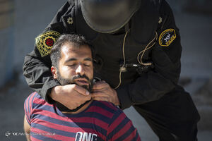 عکس/ مانور پدافندی مقابله با عملیات تروریستی