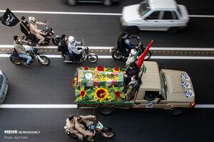 عکس/ تشییع پیکر مطهر شهید سلمانیان در کرج