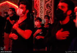 عکس/ عزاداری شب شهادت امام حسن(ع) و رحلت پیامبر(ص)