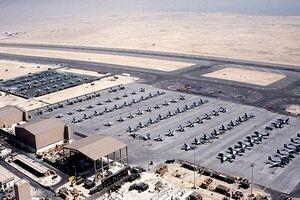 تخریب بخشی از بزرگترین پایگاه نظامی آمریکا در افغانستان