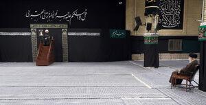 عکس/ مراسم عزاداری روز رحلت پیامبر(ص) با حضور رهبرانقلاب