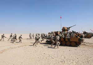 مانور نظامی مشترک ترکیه و قطر+ عکس