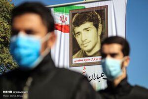 مراسم تشییع و تدفین شهید« مسعود منتجبی »