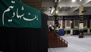 تصویر خاص از مراسم امروز در حسینیه امام خمینی(ره)