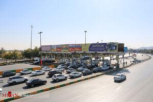 عکس/ ورودیهای شهر مشهد در آستانه ایام شهادت امام رضا(ع)