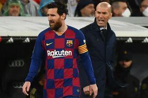 زیدان: از پیشنهاد رئال مادرید به مسی اطلاعی ندارم