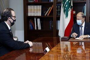 تکذیب ارتباط دیدار مقام آمریکایی و میشل عون به حزبالله