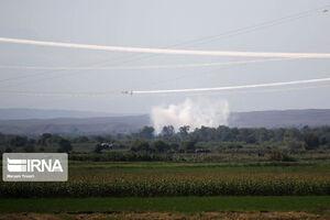 سه هدف پروازی در نبرد نیروهای جمهوری آذربایجان و ارمنستان در نزدیکی مرز ایران ساقط شد