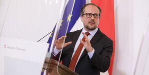 وزیر خارجه اتریش به کرونا مبتلا شد
