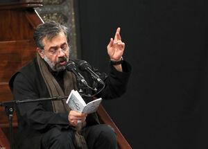 فیلم کامل مداحی محمود کریمی در محضر رهبرانقلاب