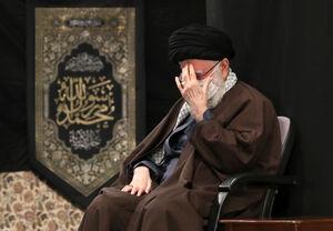 عکس/ مراسم عزاداری شهادت امام رضا (ع) با حضور رهبر انقلاب