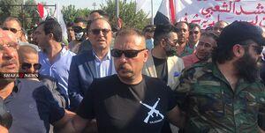 تظاهرات در کرکوک در حمایت از الحشد الشعبی