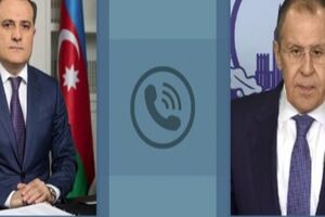 تماس تلفنی لاوروف با همتایان آذربایجانی و ارمنستانی