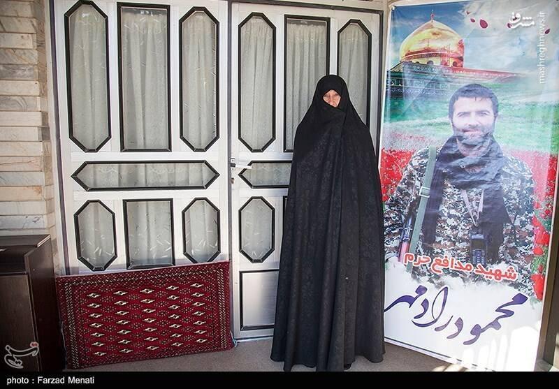 مادر شهید محمود رادمهر