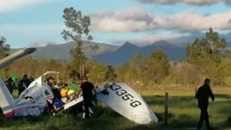 نجات معجزه آسای کودک یکساله در سقوط هواپیما