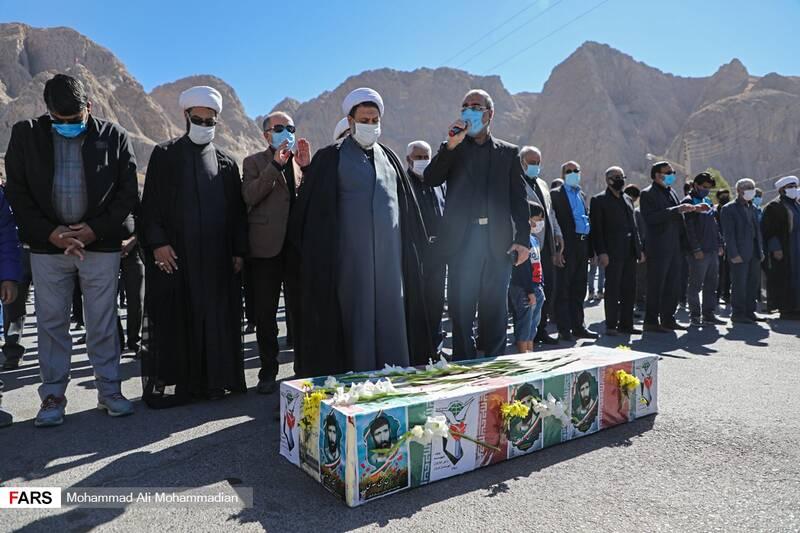 تشییع پیکر شهید «حسنی سعدی» در کرمان