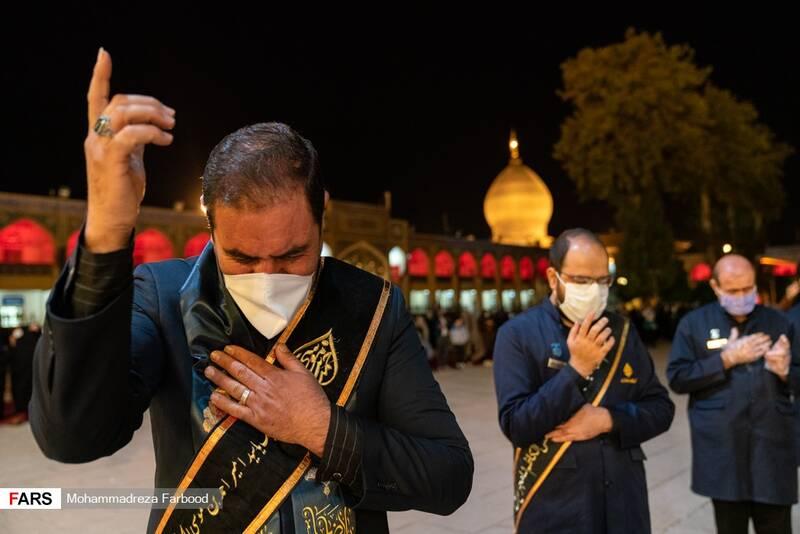 مراسم شام غریبان امام رضا(علیه السلام) درحرم شاهچراغ (ع)