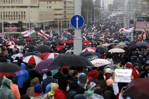 بازداشت دستکم ۳۰ معترض در راهپیمایی بلاروس