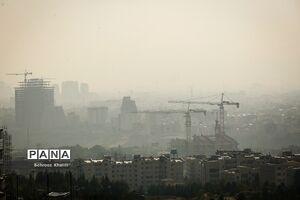 عکس/ آلودگی هوا در تهران خلوت