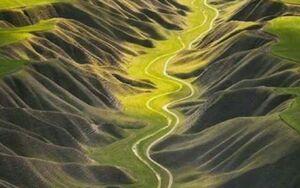 تصویری زیبا از مسیر جاده خالد نبی