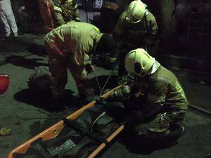 آتش سوزی در خیابان استخر یک کشته برجای گذاشت+عکس