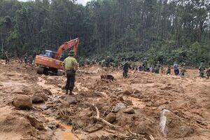 عکس/ مدفون شدن ارتشیهای ویتنام در پی رانش زمین