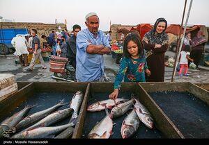 عکس/ بازار هفتگی آق قلا در روزهای کرونایی