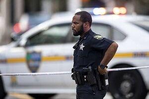 تیراندازی در آمریکا تیراندازی نمایه پلیس آمریکا