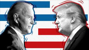 ترامپ و بایدن - نمایه
