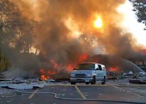 فیلم/ مرکز خرید ویرجینیا پس از انفجار!