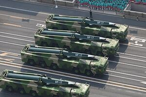 گمانه زنی درباره استقرار موشکهای پیشرفته «دانگ فنگ-17» چین نزدیک تایوان - کراپشده