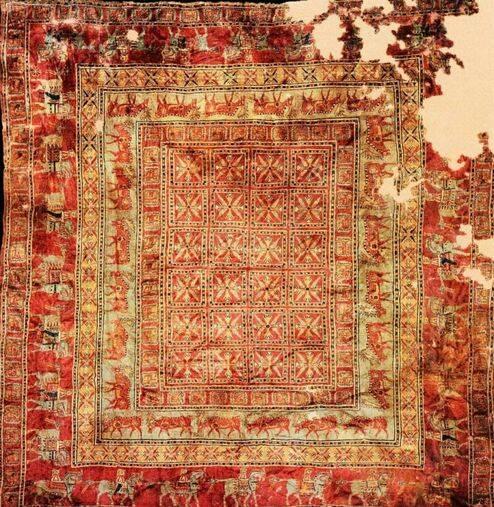 کهنترین قالیچه جهان ایرانیست +عکس