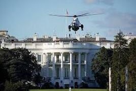 دور تا دور کاخ سفید حصار امنیتی کشیده میشود