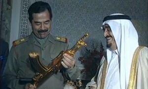چشم صدام دنبال تسلیحات نظامی عربستان