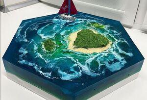 عکس/ جزیره خوردنی