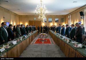 عکس/ مذاکرات هیات ایرانی و اوکراین درباره سانحه هواپیما