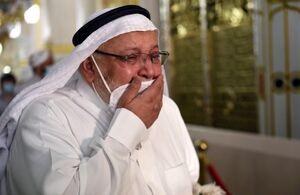 عکس/ اشکهای زائران مسجد الحرام