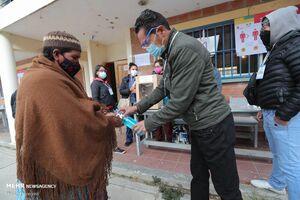 عکس/ انتخابات ریاست جمهوری بولیوی در بحبوحه کرونا