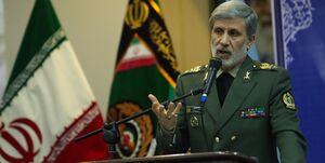وزیر دفاع: هر تهدیدی از جانب اسرائیل از سمت خلیج فارس را مستقیما پاسخ میدهیم